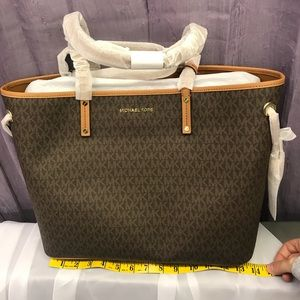 20e724a839b7 KORS Michael Kors Bags | Michael Kors Morgan Large Leather Tote ...